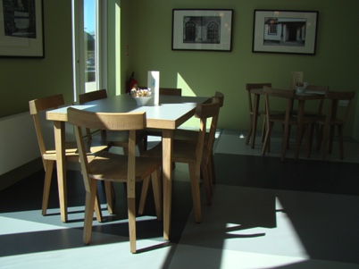 Design work, Cafe furniture at Ruthin Craft Centre
